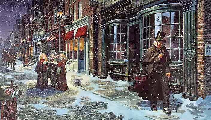 Immagini Natale Vittoriano.Filigrane Letterarie Il Natale Vittoriano Di Charles Dickens