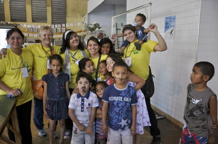 Paz na Ponta do Giz em Santos