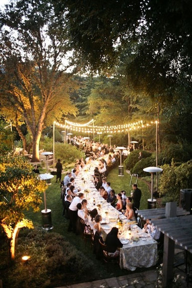 Belle Maison Wedding Reception Inspiration Outdoor Bliss