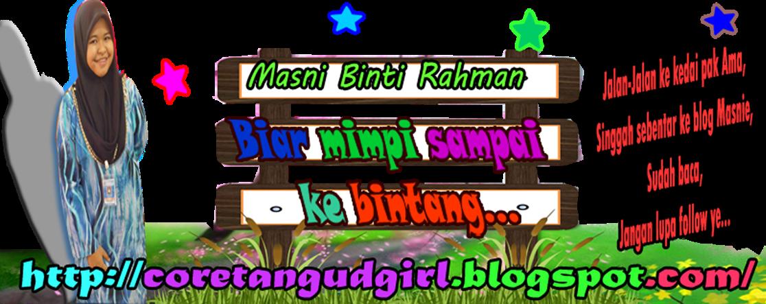 coretan Masni Rahman