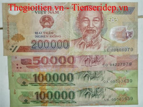 tiền seri thần tài