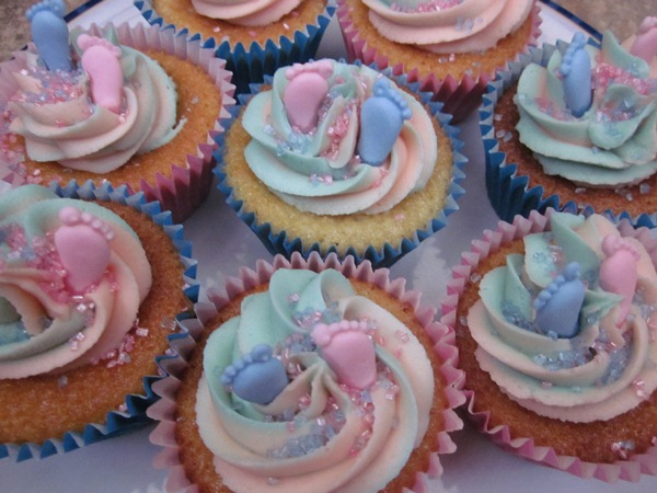 Sarah S Cards And Cupcakes Baby Shower Cupcakes