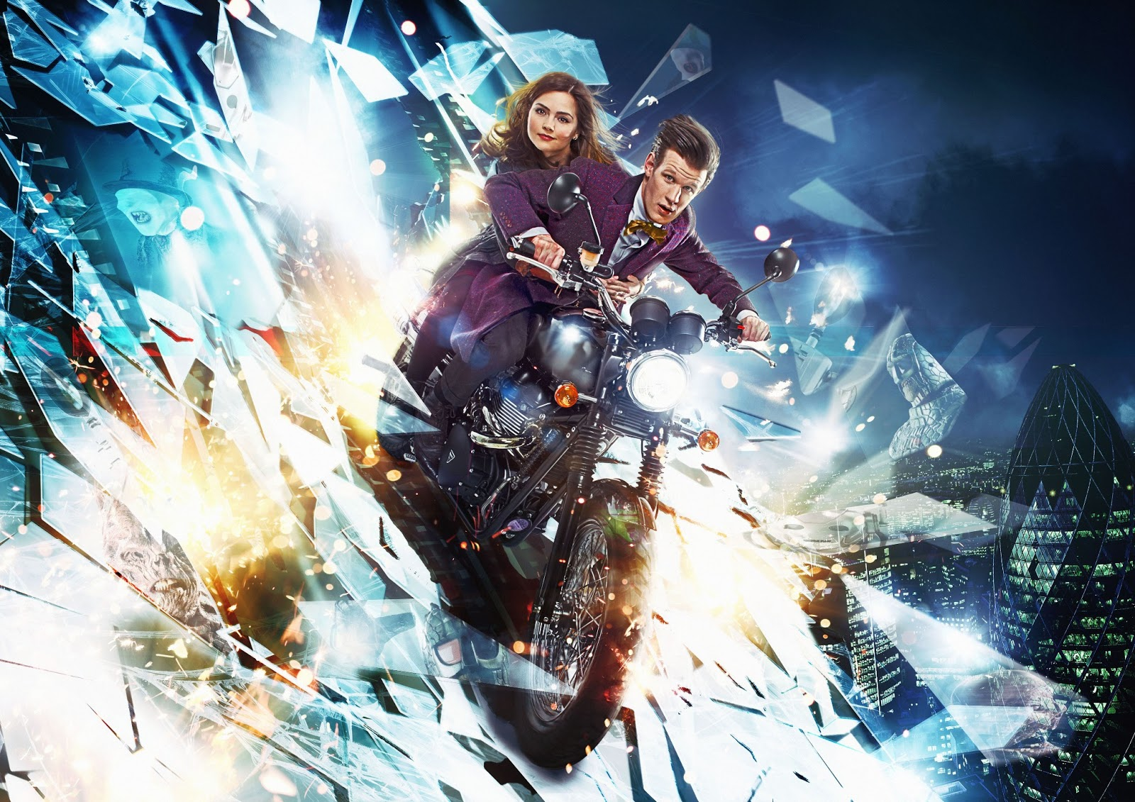 New Doctor Who Series 7 Part 2 Promotional Image Released!