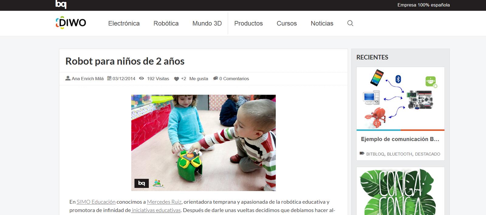 http://diwo.bq.com/blog/robot-para-ninos-de-2-anos/