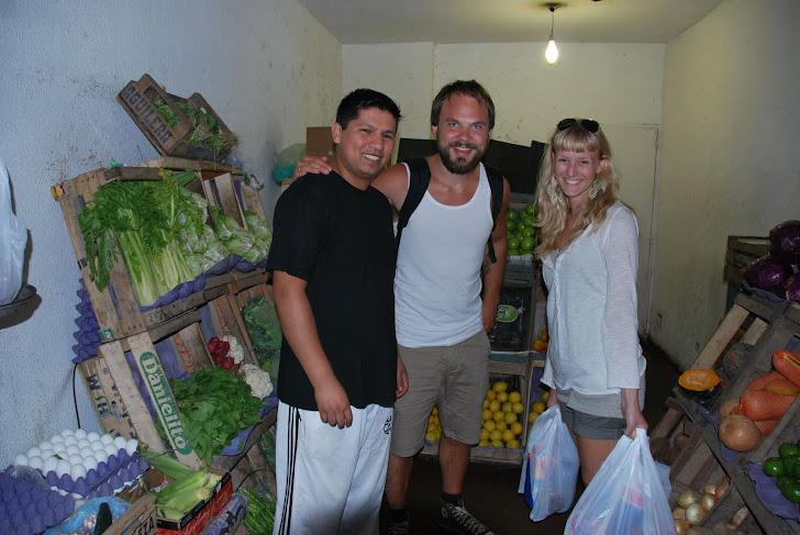 Vår faste grønnsakshandler, Daniel