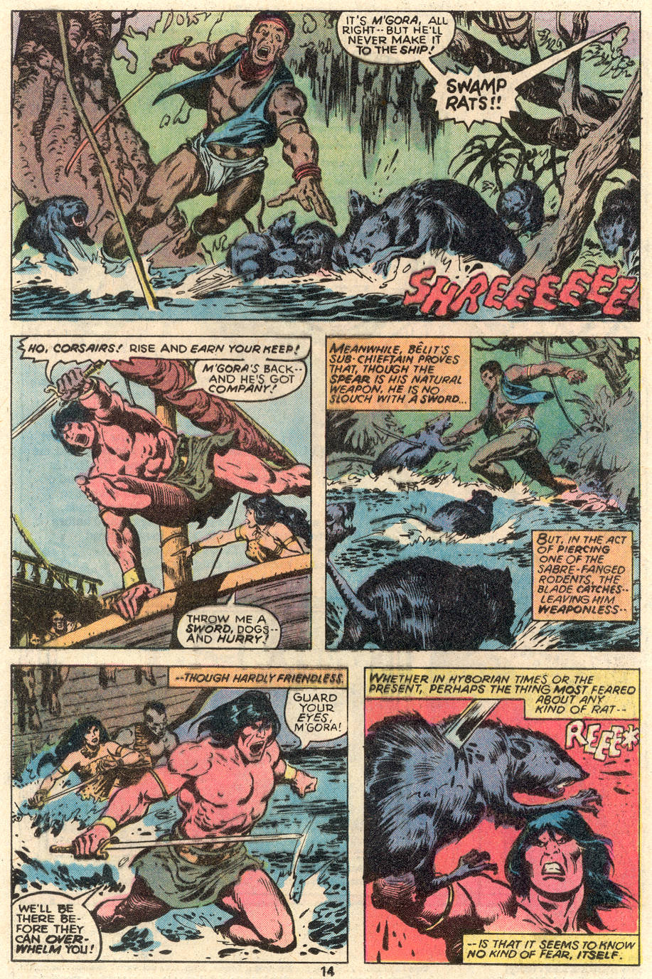 Conan the Barbarian (1970) Issue #91 #103 - English 9