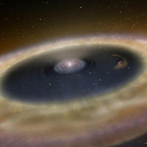 Astronomer captures picture of forming planet