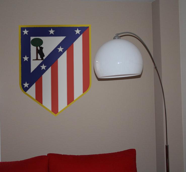 decopared: Escudos pintados de futbol para las ...