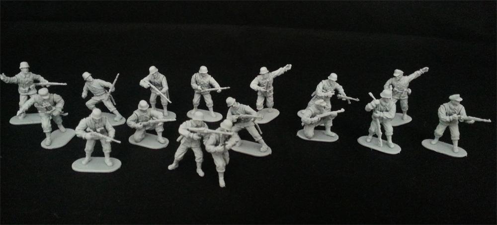 Caesar Miniaturen (1:72/ Assembly Serie) Panzergrenadier+Set_01