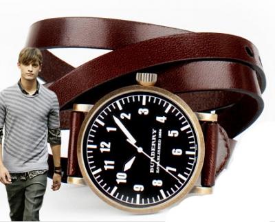 burberry aviator watch