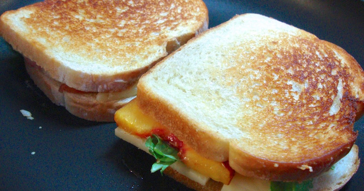 Carrie's Creations: Peach, Arugula and White Cheddar ...