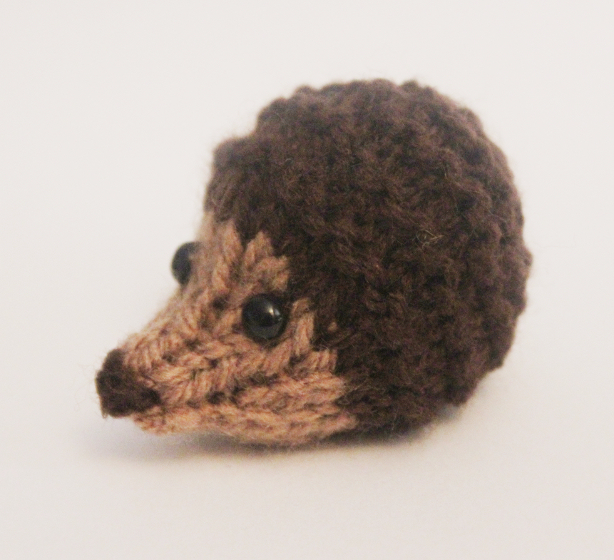 Knitted Toy Box: Harry Hedgehog
