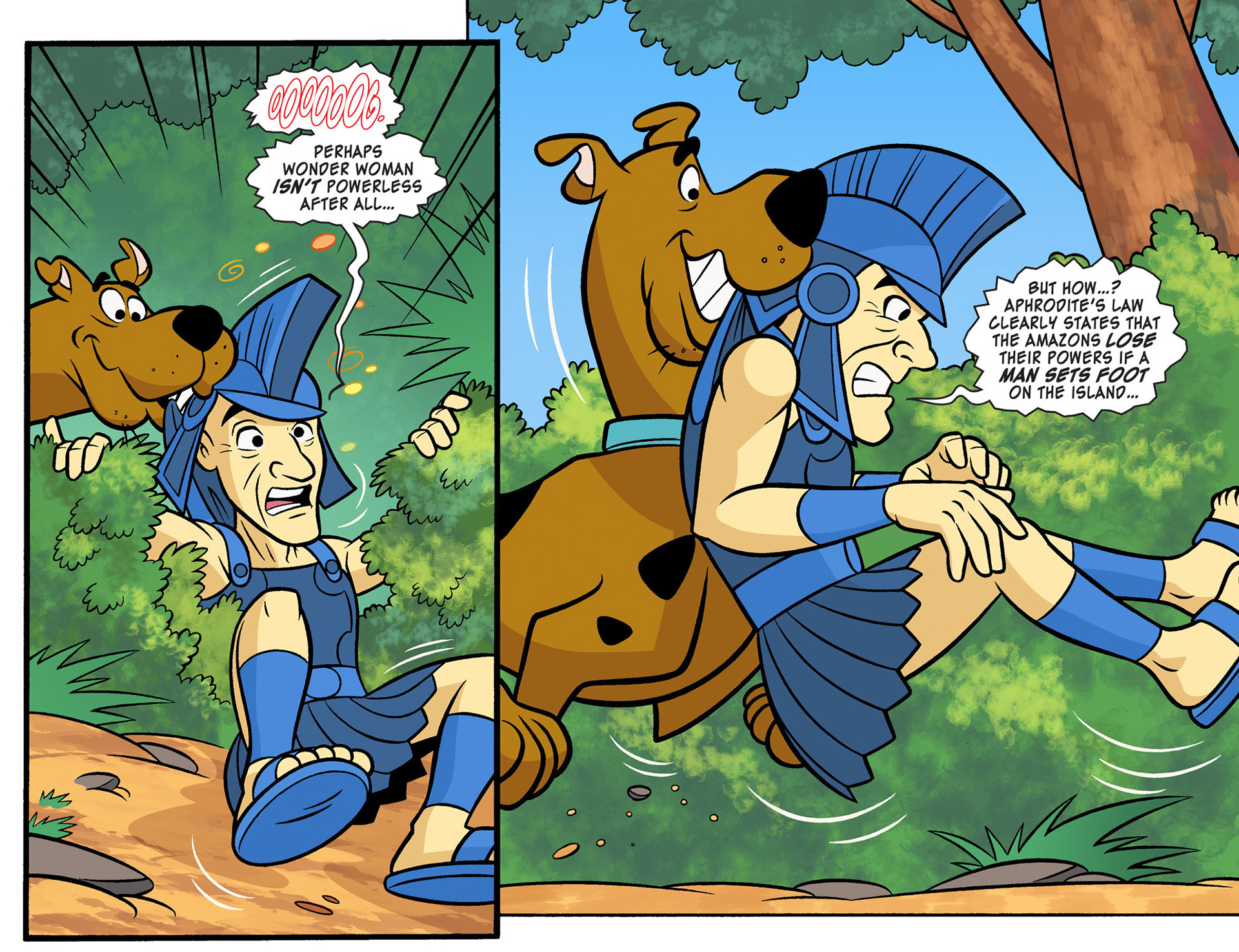 Read online Scooby-Doo! Team-Up comic -  Issue #10 - 19