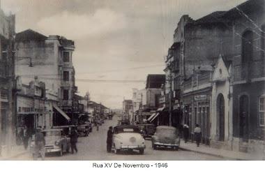 RUA XV SEM O MERCANTIL 1945