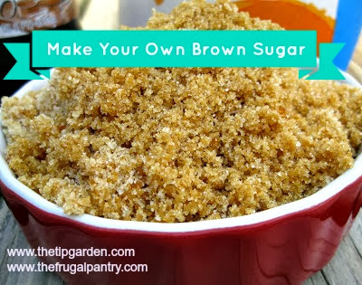 Tip Garden Make Your Own Brown Sugar