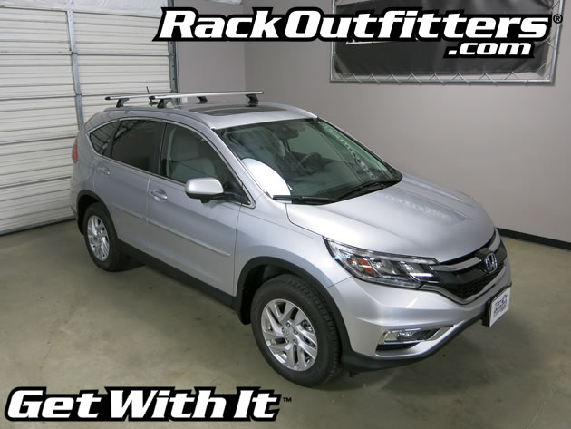This Complete Multi Purpose Base Roof Rack Is For The 2012, 2013, 2014, And  2015 Honda CRV With Flush Side Rails. Flush Rails Are Factory Installed Roof  ...