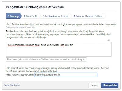 Cara Membuat Halaman Facebook Terbaru 2015