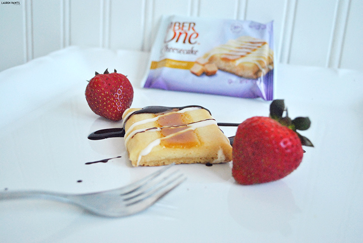 Indulge Your Cheesecake Instincts with Fiber One Cheesecake Bars