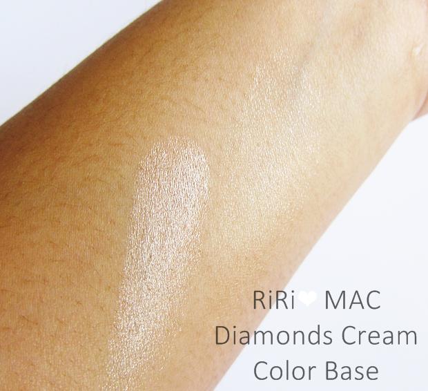 RiRi Hearts MAC Diamonds Colour Cream Base
