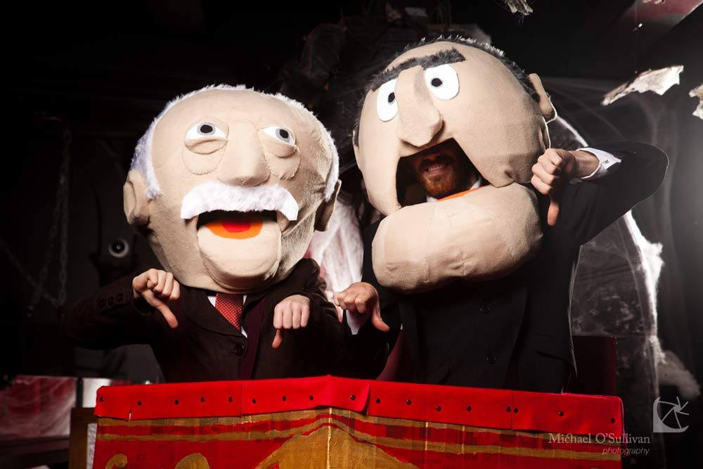 Statler and waldorf costumes