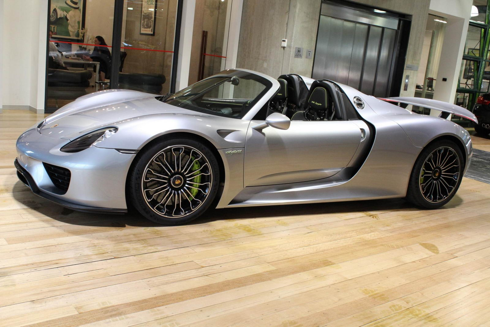 Brand New Porsche 918 Spyder Up For Grabs Down Under
