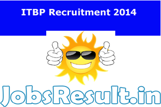 ITBP Recruitment 2014