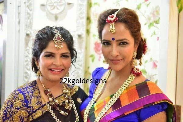 Lakshmi Manchu And Viranica Reddy Jewellery
