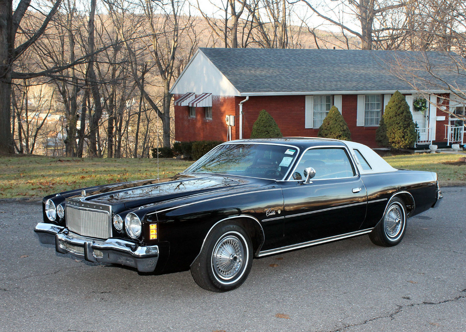 all american classic cars 1975 chrysler cordoba 2 door coupe. Black Bedroom Furniture Sets. Home Design Ideas