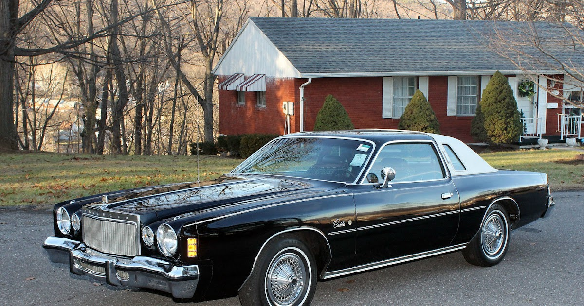All American Classic Cars: 1975 Chrysler Cordoba 2-Door Coupe