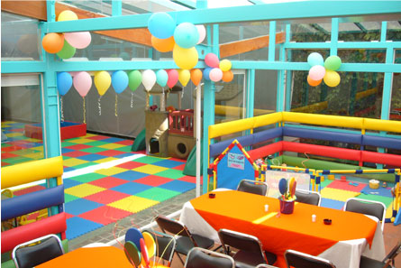 El sal n de fiestas infantiles for Decoracion salon infantil