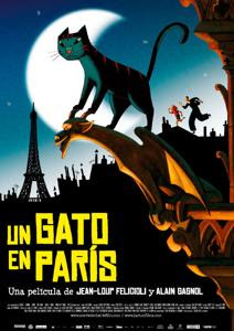 descargar Un Gato en Paris – DVDRIP LATINO
