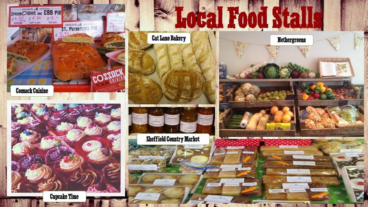 Food stalls Farm Yard @ Bird's Yard Sheffield 24th May