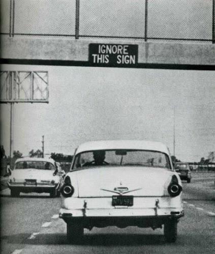 Ignore esta señal