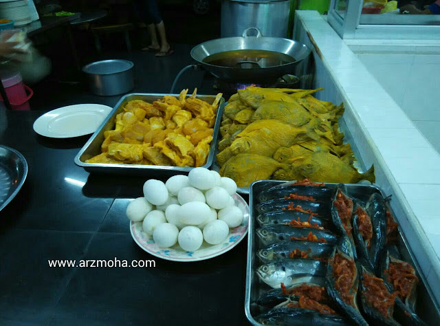 ikan belah belakang, ayam goreng, bawal goreng penang, bawal goreng jelutong, manu mudah dan cepat, menu sahur murah,