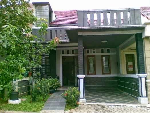 Gambar desain teras rumah sederhana