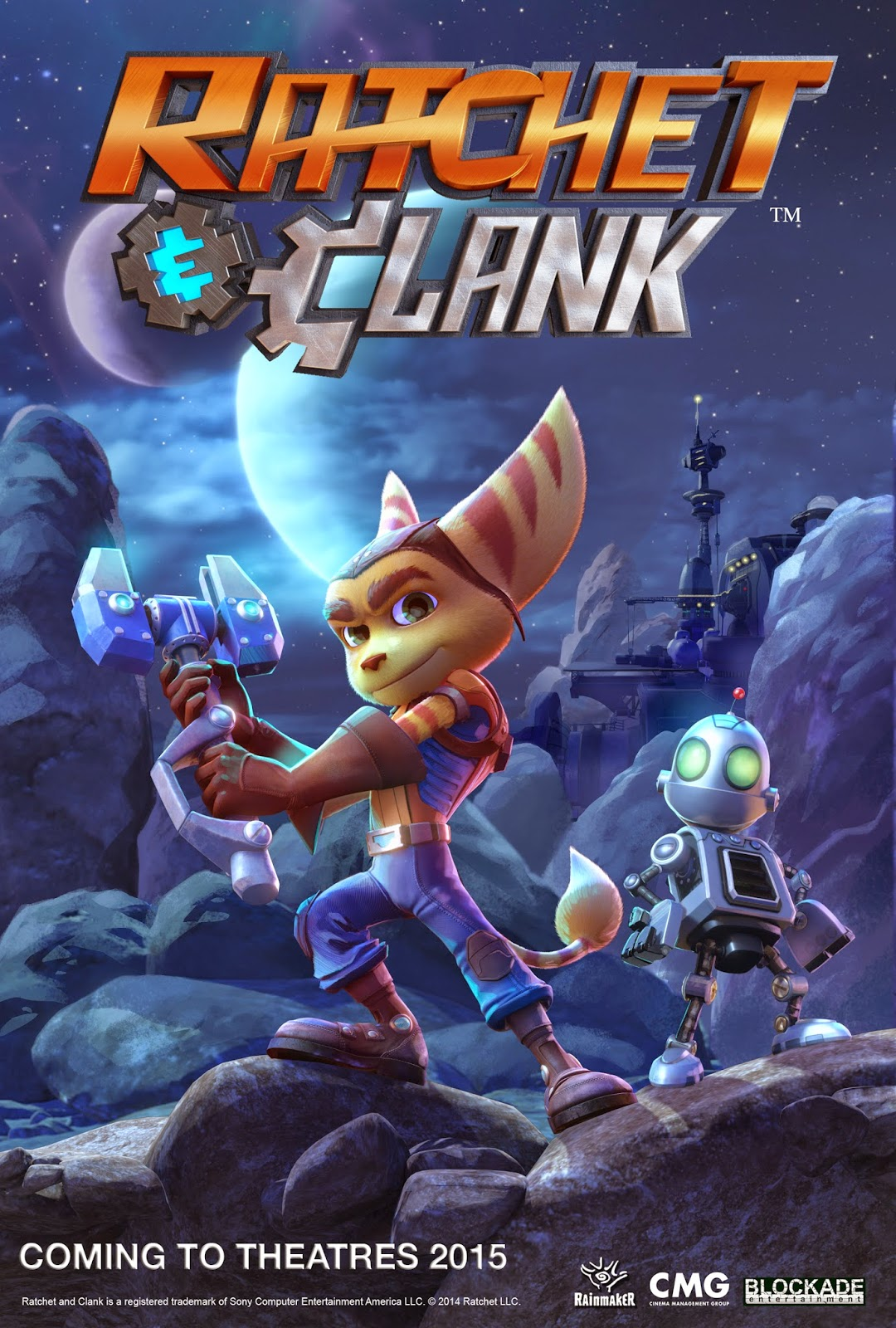 Ratchet & Clank -- La Pelicula -- Primer Trailer Ratchet_Clank_movie_poster_pose