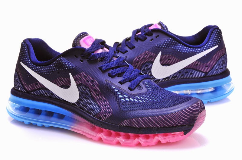 Nike AIR MAX 2014 Womens Running Shoes   Bluewhite Nike Running