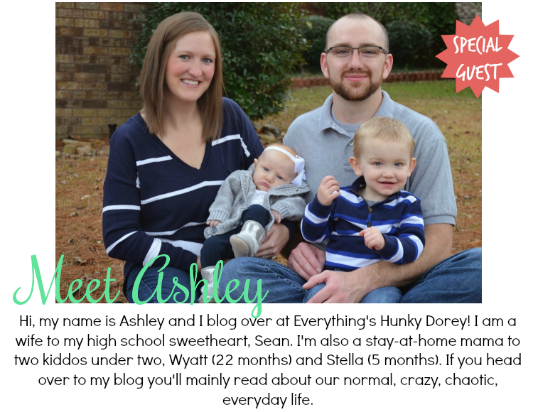 [Guest Post] Getting to Know Ashley from Everything's Hunky Dorey