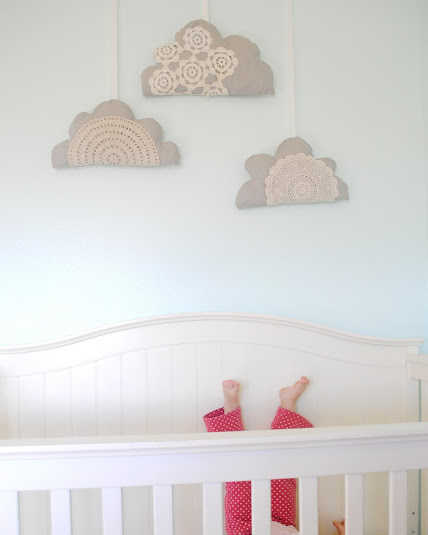 vintage nursery decoration