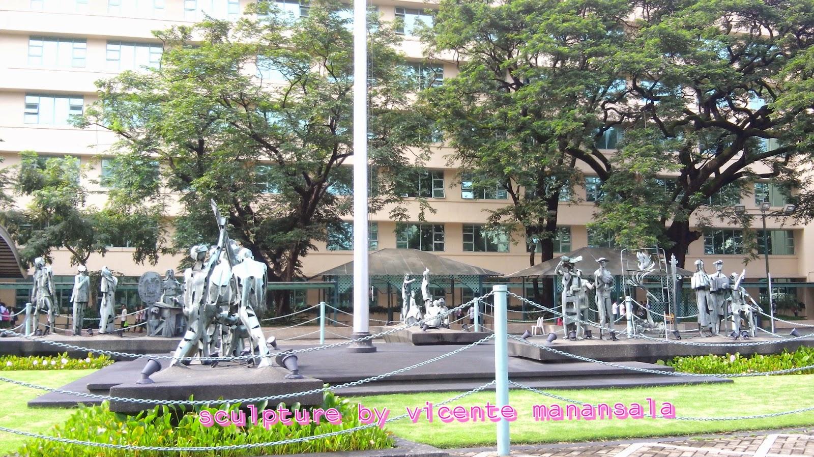 Sculpture by Vicente Manansala