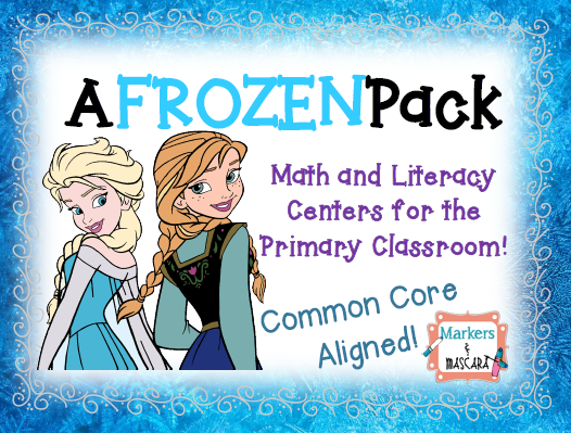 http://www.teacherspayteachers.com/Product/A-FROZEN-Pack-Math-and-Literacy-Centers-for-the-Primary-Classroom-1612750