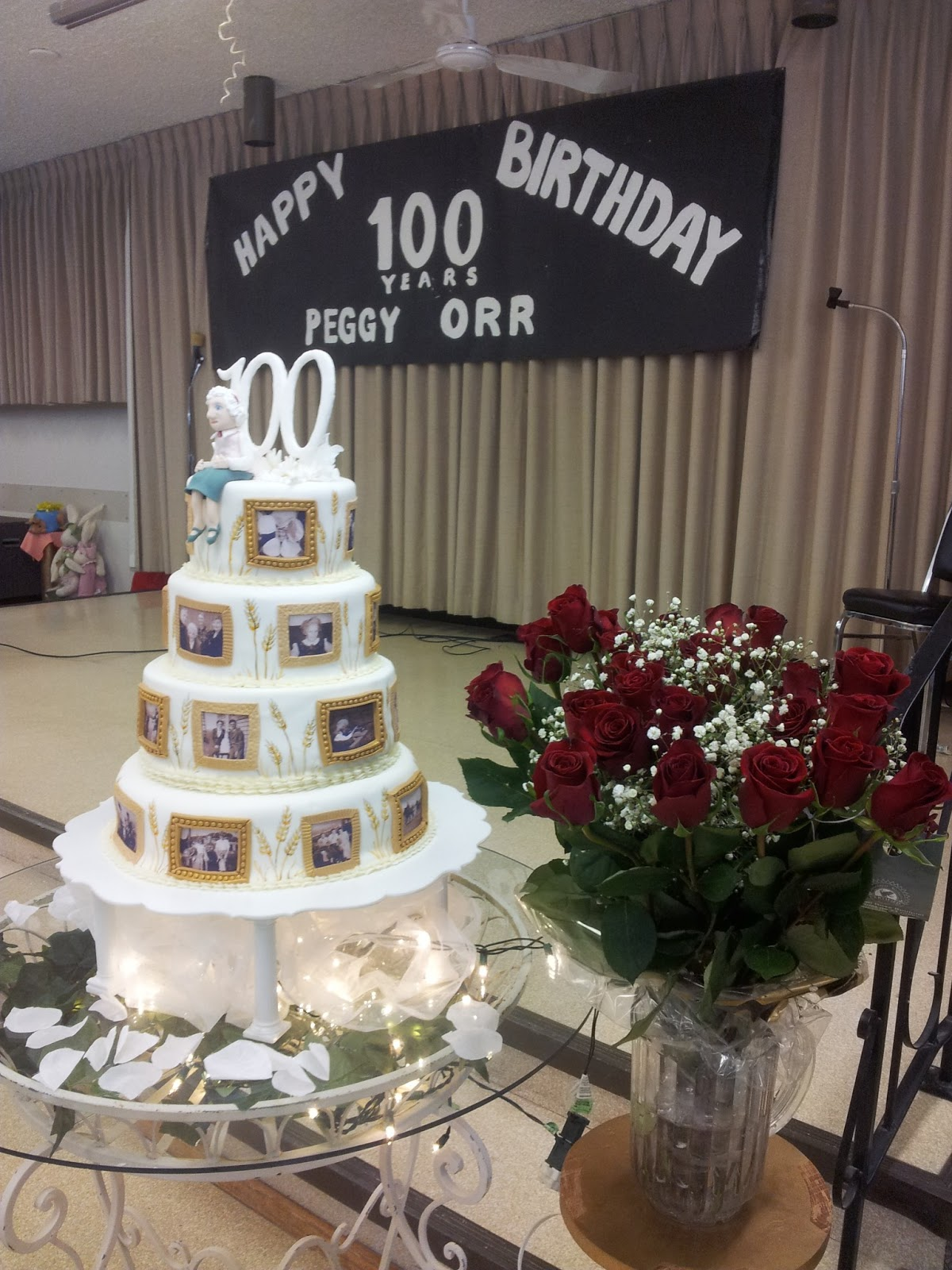 Kiddles N Bits 100th Birthday Cake
