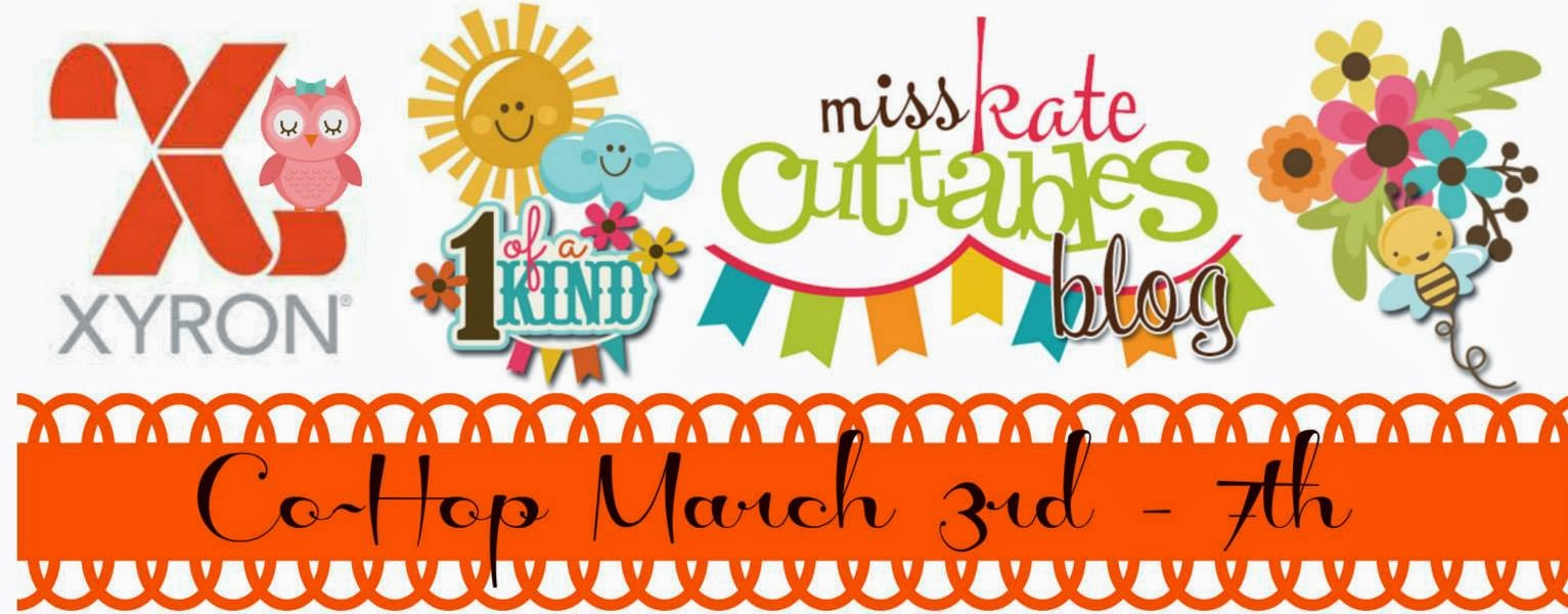 Xyron and Miss Kate Cuttables Blog Hop