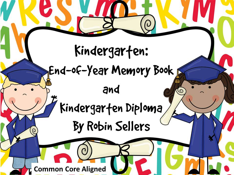 preschool graduation diplomas and pre k end of year memory book for preschool graduation