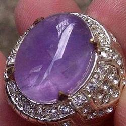 Batu akik cempaka lavender