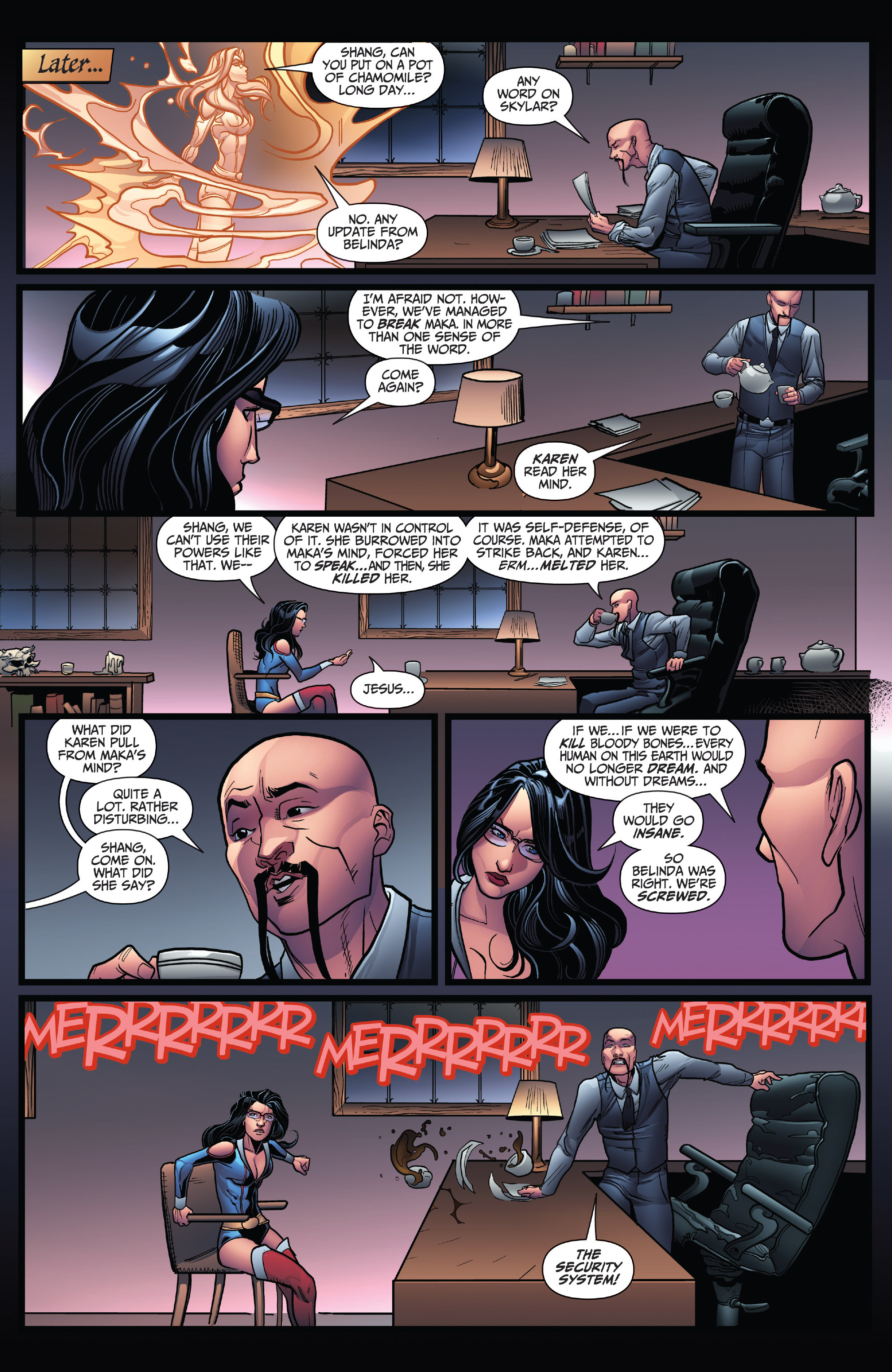 Grimm Fairy Tales (2005) Issue #119 #122 - English 23