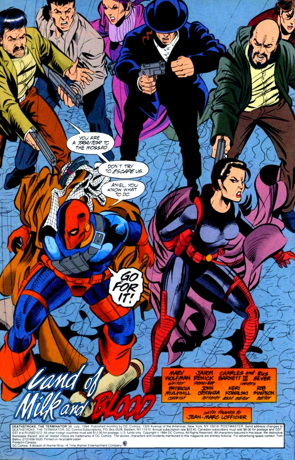 Deathstroke (1991) Issue #38 #43 - English 3
