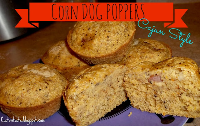 Corn Dog Poppers by Custom Taste