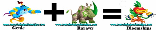 como obtener el monster bloomskips en monster legends formula 1