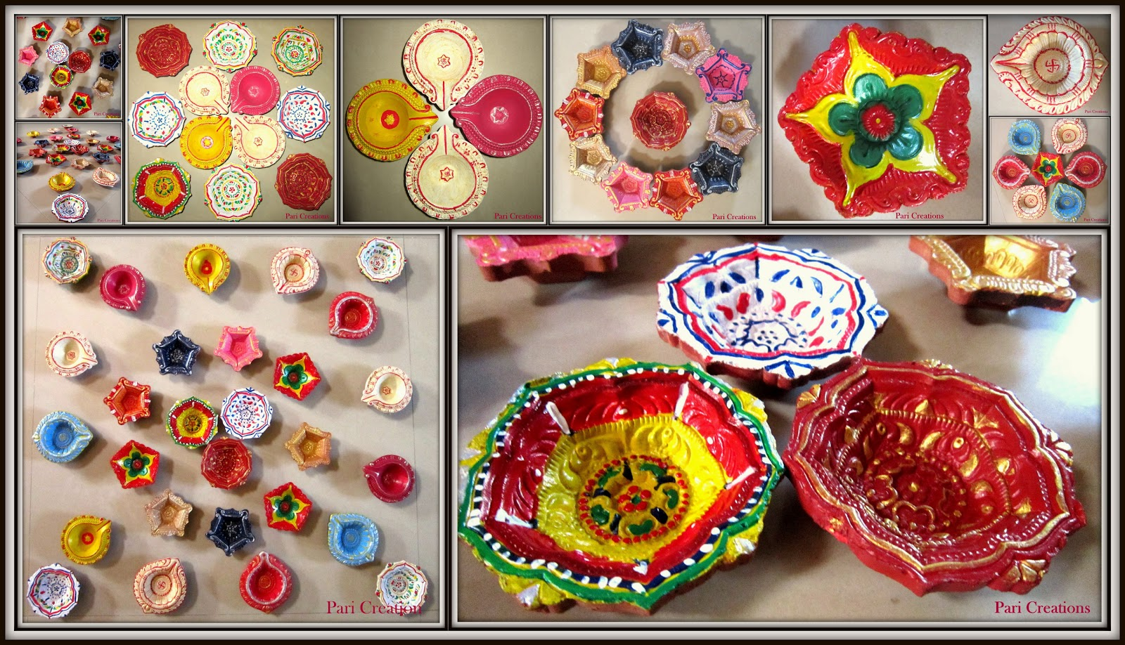 Diwali Decoration Tips And Ideas For Home Part - 43: Diya Decoration Ideas For Diwali!!!